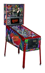 Elvire 3 House of Horrors LE Pinball