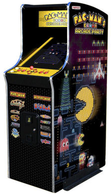 Pacmans arcade party 30th anniversary Ms. Pac-Man