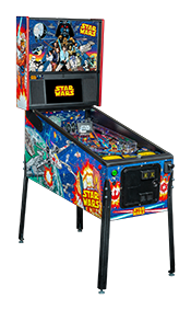 Comic Art Star Wars Pinball