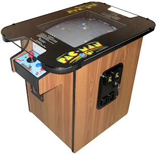 Pacman Cocktail table arcade