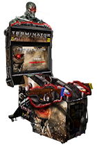 Terminator Salvation Arcade Game Rental